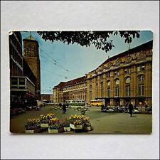 St Gallen Hauptbahnhof Hauptpost Postcard (P438)