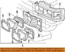 TOYOTA OEM 88-90 Land Cruiser-Headlight-Head light Headlamp Assy Left 8115090A28