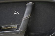 Se adapta a Mazda Rx7 fc3s 2x Manija De Puerta cubre Beige Stitch