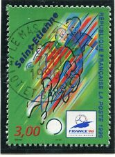 TIMBRE FRANCE OBLITERE N° 3012 FRANCE 98 FOOTBALL /