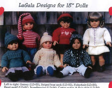 "All 15 Knitting Patterns for 18"" Doll / American Girl  by LaGala Designs"