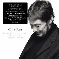 Fool If You Think It's Over-Definitive Greatest - Chris Rea (2008, CD NIEUW)