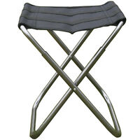 Portable Chair Aluminum Alloy Foldable Stool Seat For Fishing Camping Hiking 2