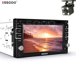 """6.2"""" Double 2 Din In Dash Car CD DVD Player Radio Stereo GPS SAT NAV Rear Camera"""