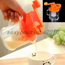 Kitchen Hand DIY Tool Manual Fruit Soybean Milk Machine Maker Juicer Squeezer
