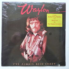 WAYLON JENNINGS I've always been crazy AFL1 2979 S/S Neuf sous cello factory sea