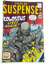 Marvel Comics TALES OF SUSPENSE (1961) #20 Stan LEE Jack KIRBY COLOSSUS FR to GD