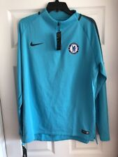 Nike Men Chelsea FC Dry Squad Soccer Drill Top 905173 451 SIZE XL Omega Blue