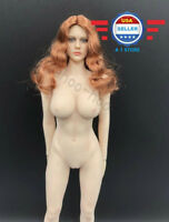TBLeague PHICEN 1/6 scale Redhead Beauty Seamless Figure Doll Set
