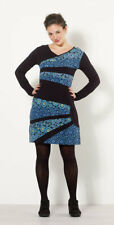 Robe Coline ethnique et colorée manches longues