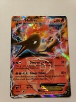 Holo Foil Moltres EX # 14/135 B&W Plasma Storm Set Pokemon Cards Team Valor NM