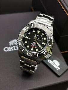 Orient Pro Saturation Diver 300m Automatic Black Watch SEL02002B0 New