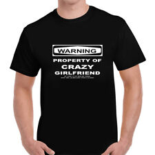 Property Of Girlfriend Funny Humour Quote Joke Mens Unisex T Shirt Tee Gift
