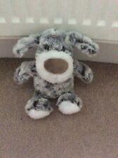 Small Grey Mix Super Soft Plush Dog Soft Toy