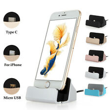 ✓ DOCK IPHONE IOS HTC ANDROID STATION USB CHARGEUR ADAPTATEUR SUPPORT TELEPHONE