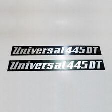 UTB UNIVERSAL Tractor Brand metal plate Set 445-DT