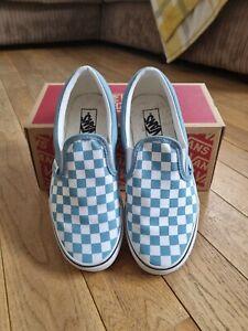 Boys Slip on Vans Size 2