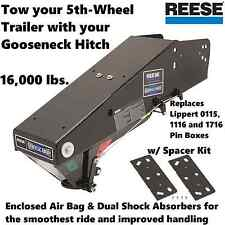 REESE GOOSE BOX 5TH WHEEL TRAILER GOOSENECK COUPLER LIPPERT 0115 1116 1716