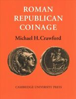 Roman Republican Coinage, Paperback by Crawford, Michael H., Brand New, Free ...