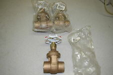 "Red White Valve RWV Brass Gate Valve 1-1/4"" *FREE SHIPPING*"