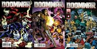 Doomwar #1-3 (2010) Marvel Comics - 3 Comics