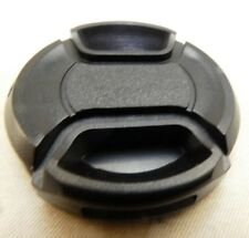 40.5mm Black Front Cap  snap on type  Free Shipping USA