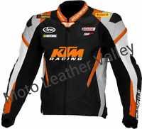 KTM Super Duke Motogp Motorbike / Motorcycle Racing Cowhide Leather Jacket 2020