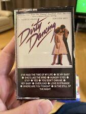 DIRTY DANCING ORIGINAL SOUNDTRACK CASSETTE TAPE