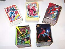 1990, 1991, 1992, 1993, 1994, MARVEL UNIVERSE COMPLETE 5 CARD SETS! STAN LEE!