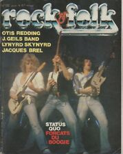 """ROCK & FOLK n°132 janvier 1978"" STATUS QUO (Photo Robert ELLIS)"