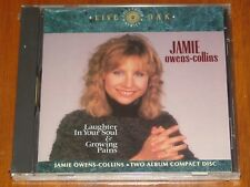 JAMIE OWENS-COLLINS - LAUGHTER IN YOUR SOUL / GROWING PAINS - RARE 1990 SS CD