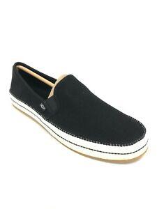 UGG Women's Bren Black Slip On Shoes Flats 1020090
