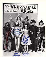 The Wizard of Oz Munchkins Signed 11x14 Photo Autograph Multi Signed JSA COA