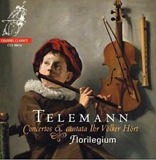 Florilegium - Telemann: Concertos And Cantata Ihr Volker Hort (NEW CD)