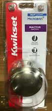 Kwikset Satin Nickel Dummy Door Knob | Model 488CV 15 CP