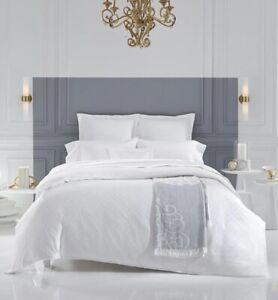 sferra fine linen comforter case duvet cover white pima cotton king