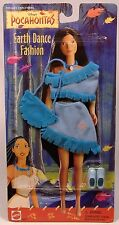 VINTAGE DISNEY POCAHONTAS EARTH DANCE FASHION DOLL OUTFIT SHOES NEW SEALED 2007