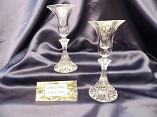 """MIKASA """"THE RITZ"""" TAPER CANDLE HOLDER SET OF TWO"""