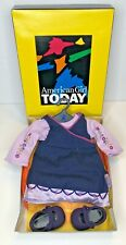 American Girl Today Denim Jumper Outfit - GSOF - Discontinued in 2003 NEW IN BOX
