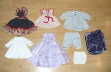 "8 PIECE LOT OF 18""  DOLL CLOTHES, FITS AMERICAN GIRL, BATTAT ETC"