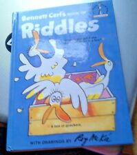 BENNETT CERF'S BOOK OF RIDDLES 1960 illustrated by Roy Mckie