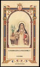 santino-holy card B.MADDALENA LA MAGGIORE DI SIVIGLIA mercedaria