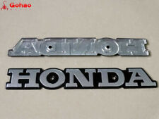 Silver Metal Emblem Gas Tank Badges for Honda Super Sport CB CB550 CB650 CB750