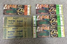 6 MISCELLANEOUS 1979 NOTRE DAME FOOTBALL TICKET STUBS & FULL TICKETS