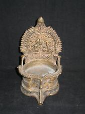 Ancienne Lampe a Huile de Temple Domestique  Inde