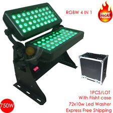720W LED Wall Wash light lamp Washer bar 4 IN 1 RGBW with Flight case