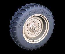Panzer Art 1/35 Off-Road Wheels for Schwimmwagen (Gelande) (5 pieces) RE35-266