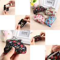 Handbag Retro Girls Change Coin Purse Hasp Clutch Card Holder Women Small Wallet