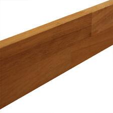 Solid Iroko Wooden Worktop Upstand 3M X 80mm X 18mm