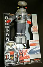 """CatalinaStamps:  Lost in Space B-9 Robot 10.5"""" Tall, Original Box"""